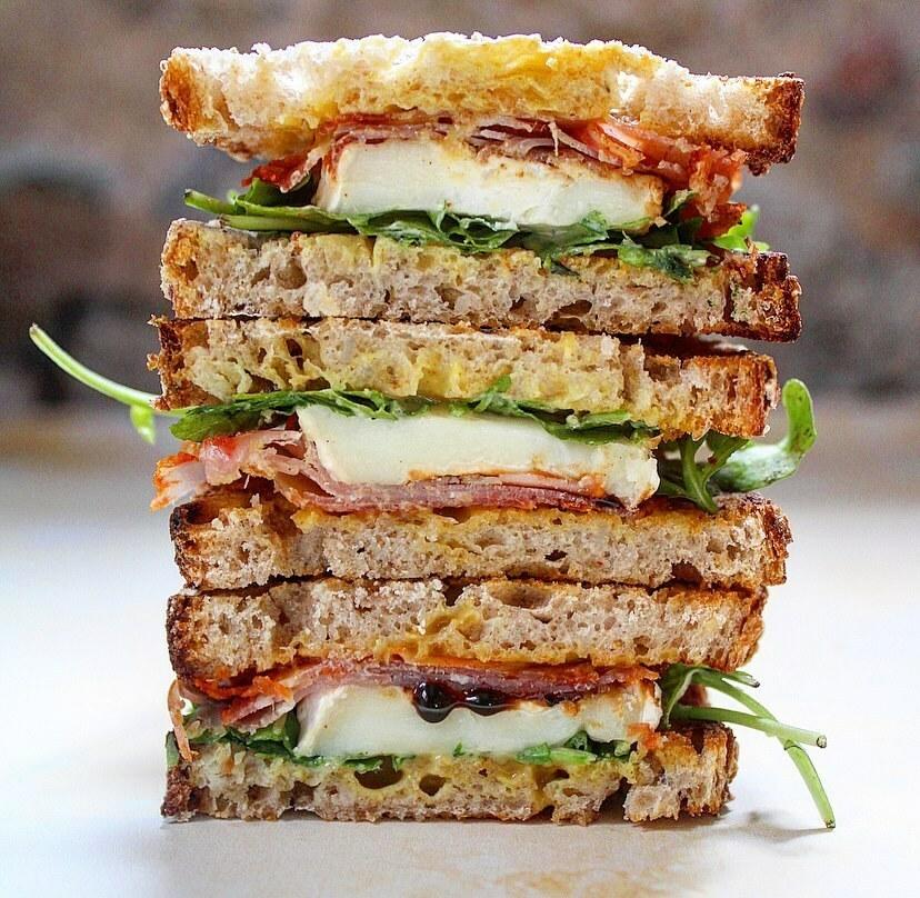 Sandwich Healthy @charlotteandcooking