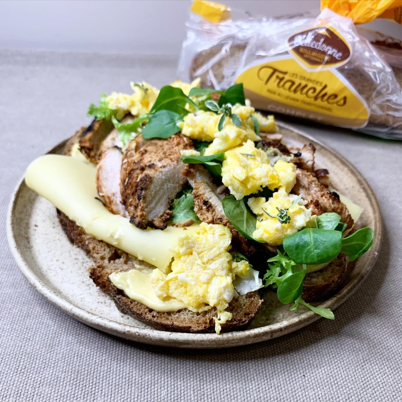 Sandwich Pain Complet @foodtoaud