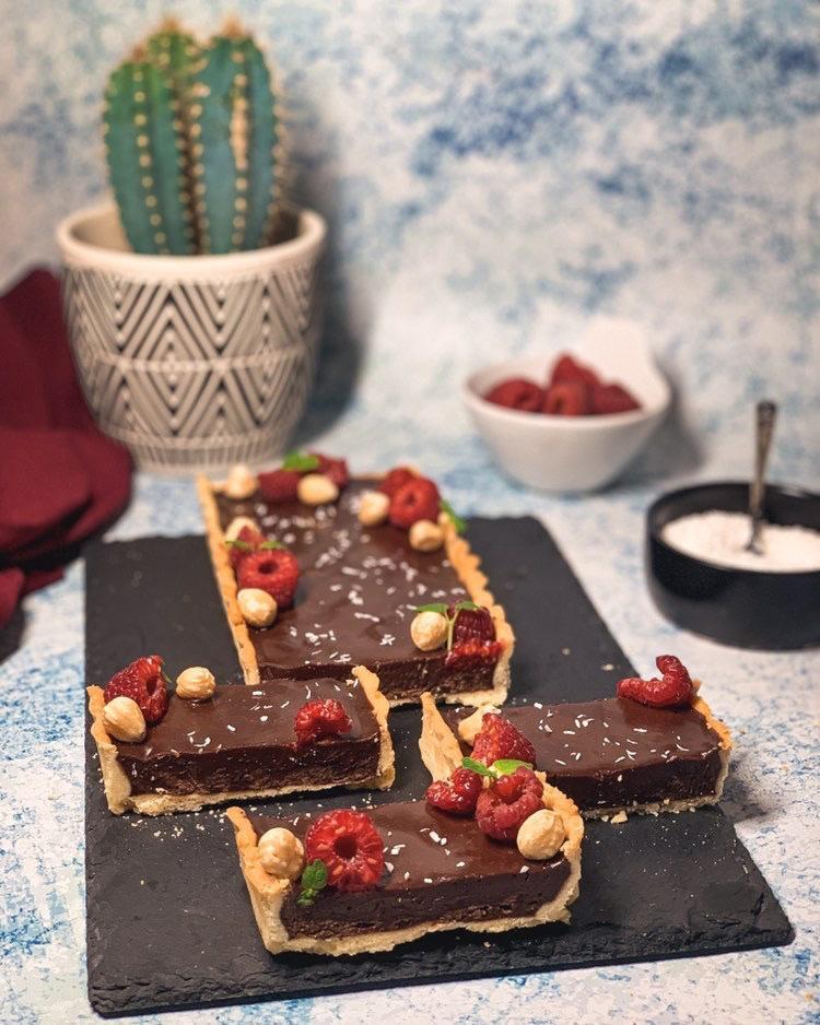 Tarte Chocolat @ali Et Ses Patisseries