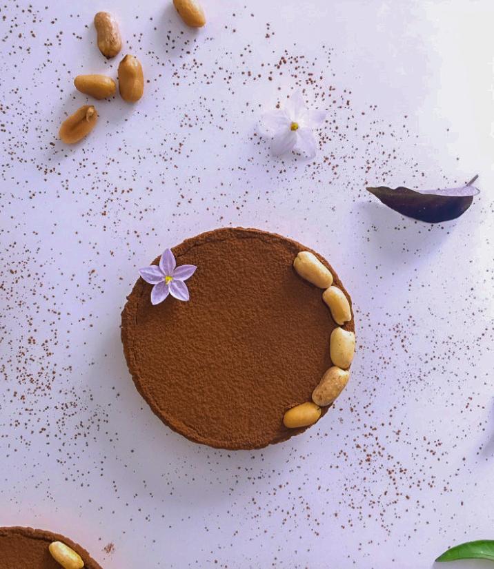 Tartelette Choco Cacahuete @soeasyhealthy