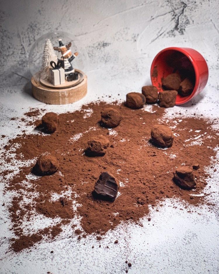 Truffes Chocolat @ali Et Ses Patisseries