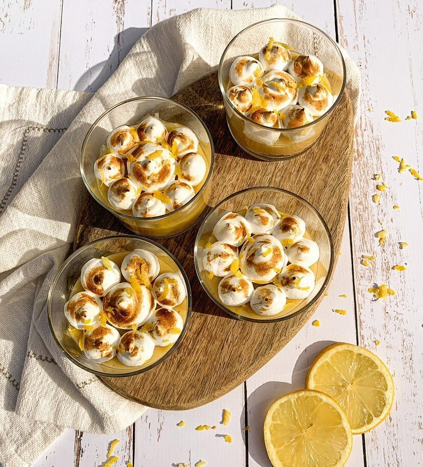 Verrines Citron Meringues @frenchieandfoody