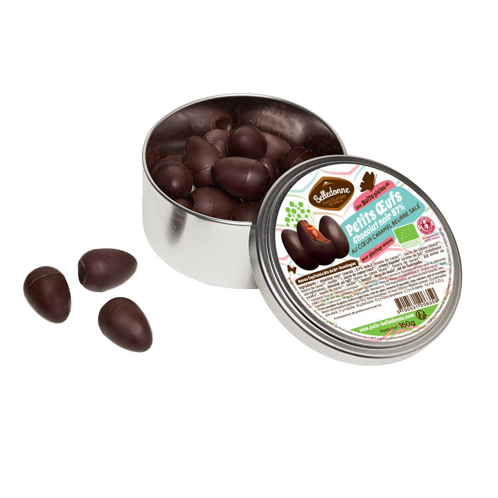 Produit 6118134 Oeufs Caramel Choc Noir