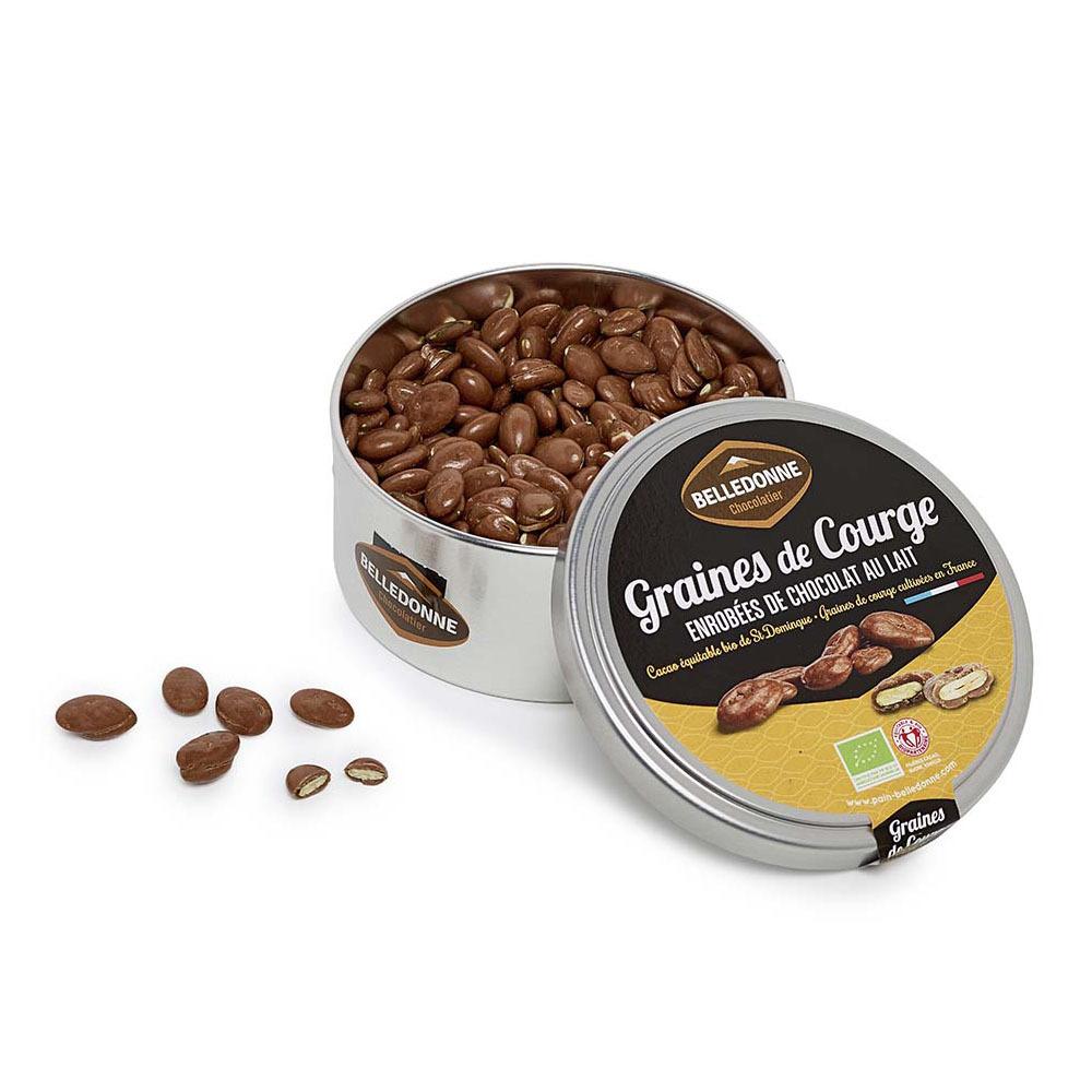 Produit 6157234 Grains De Saveur Boite Graines De Courge Lait