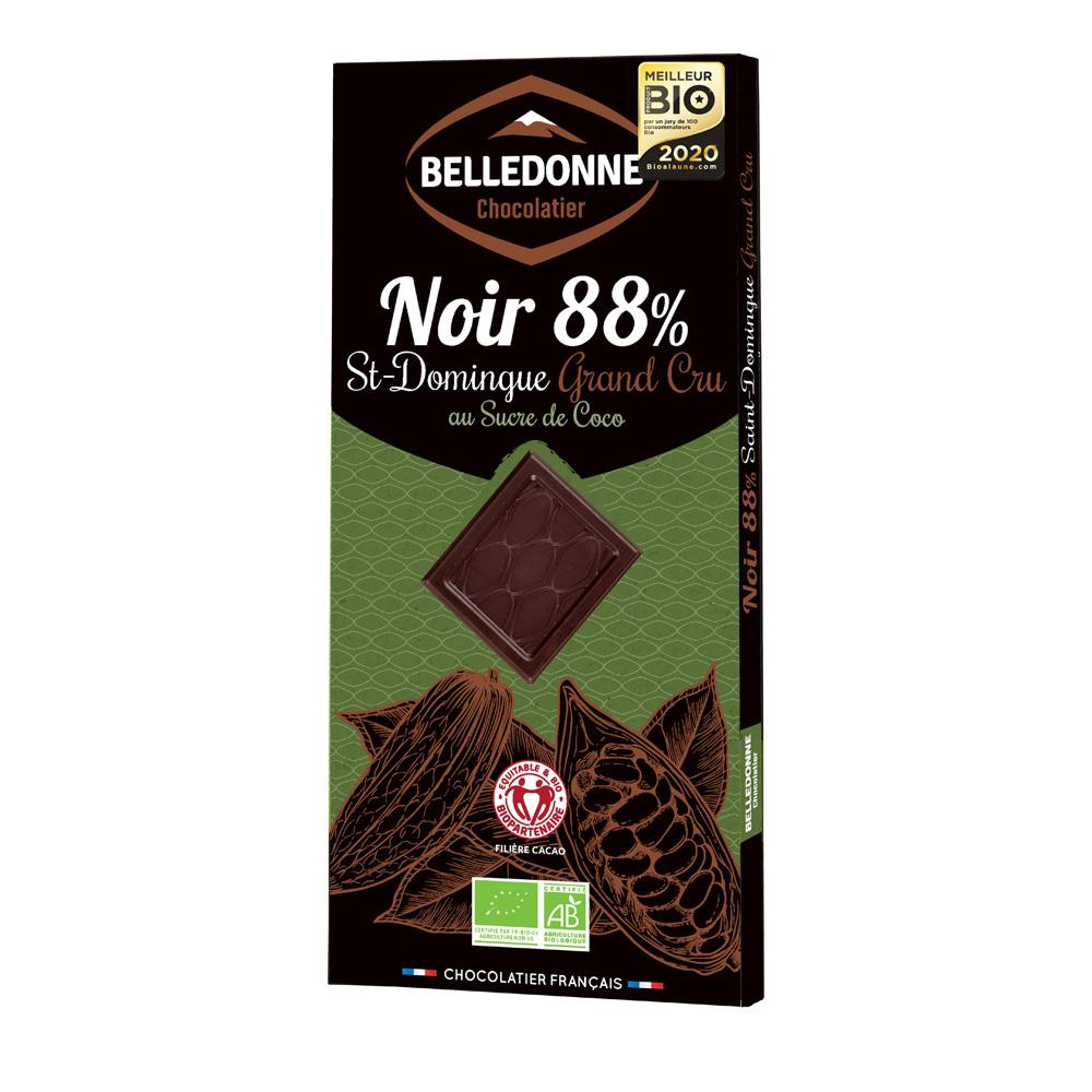 Produit 6180844 Tablette Grand Cru Noir 88 Sucre Coco