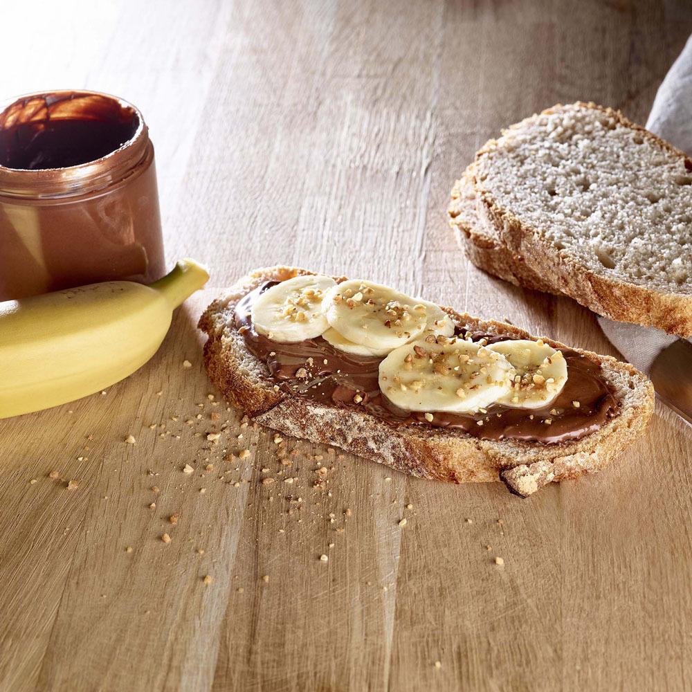 Tartine Pavé Choc Banane