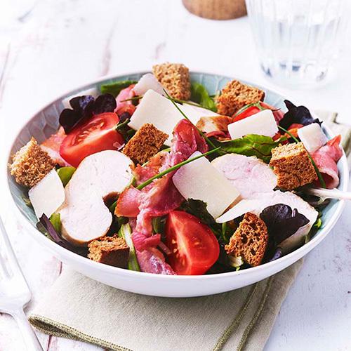 Recette Salade Caesar D Amaury Petit Epeautre