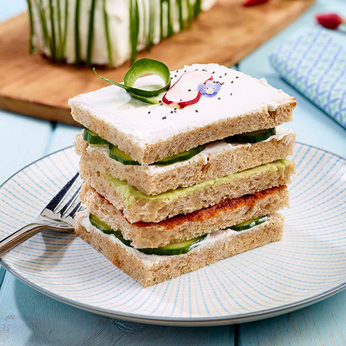 Recette Sandwich Cake Pain De Mie Boulanger Campagne