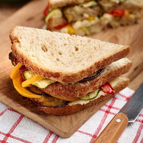 Recette Sandwich Legumes Grilles
