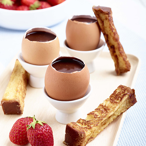 Recette New Oeuf Chocolat Mouillette De Brioche