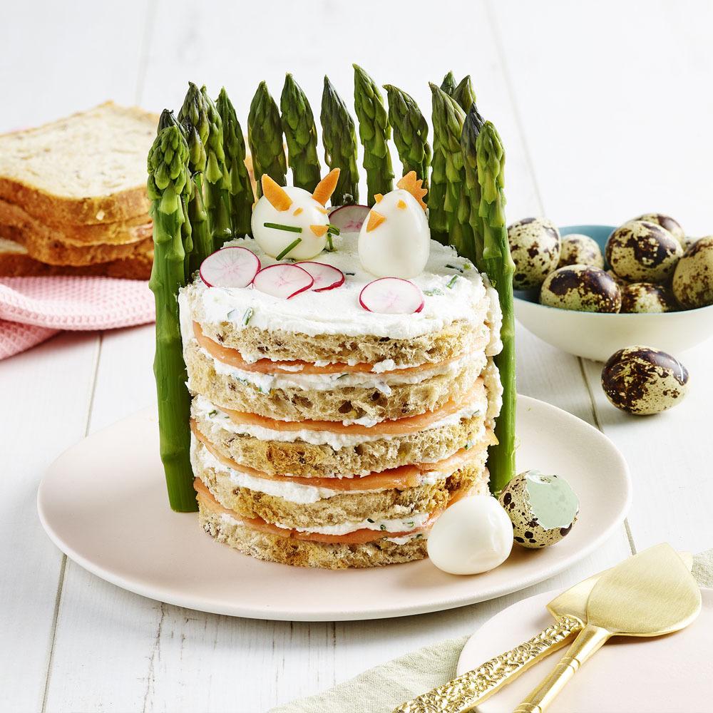 Sandwich Cake Pâques